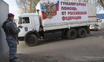 """Iš Rusijos į Ukrainą pajudės dar vienas """"humanitarinis"""" konvojus"""
