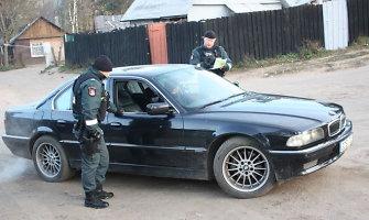 Nuomotais automobiliais narkotikai buvo vežami į Klaipėdą iš Vilniaus taboro