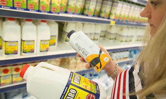 Siūloma įvesti aiškesnę pieno produktų ženklinimo sistemą