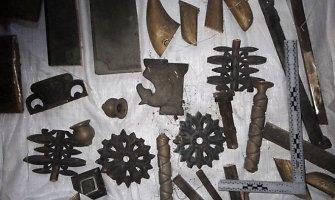 Romainių kapinėse palaidotų kauniečių ramybę drumstė metalo vagys