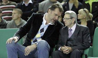 """Vladas Garastas: """"Arvydas ir Sergejus – tikros Lietuvos krepšinio žvaigždės"""""""