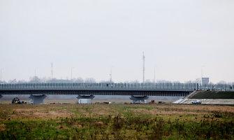 Tiltą, jungsiantį Panemunę su Sovetsku, atidarys dar negreitai