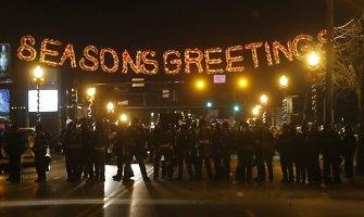 Kremliaus propaganda mėgaujasi riaušėmis Fergusone