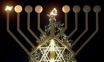 Lietuvos žydai švenčia Chanuką