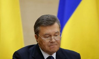 """Ukrainos parlamentaras: """"Viktorui Janukovyčiui gali baigsis kaip Aleksandrui Litvinenkai"""""""