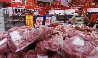 Rusija leido Ukrainai tiekti maistą Krymui