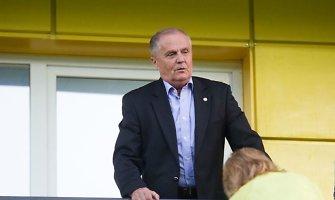 LFF prezidentas Julius Kvedaras: sprendimus priima treneriai, jie už viską atsakys