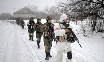 Rusijos kariuomenei nepavyko apsupti Ukrainos dalinių ir sukurti Debalcevo katilo