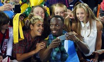 9 priežastys, kodėl Usainas Boltas ne tik greitai bėga, bet ir žavi pasaulį savo charizma