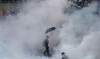 """""""Skėčių revoliucija"""" Honkonge: ką reikia žinoti"""
