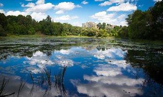 Jeruzalės ežerėlis Vilniuje: valymo projektas parengtas, tačiau jį įgyvendinti nėra už ką