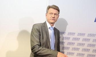 Rolandas Paksas: naujo ministro paieška užtruks keletą dienų