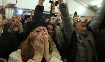 Europos baimės virto realybe: kairieji radikalai ima valdžią Graikijoje