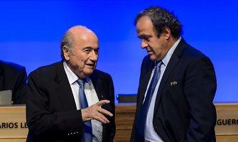 Michelis Platini nežada dalyvauti FIFA prezidento rinkimuose 2015 metais