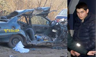 Per avariją Utenoje 3 žmones užmušęs Mantas Šironas pripažintas žudiku ir kalės 14 metų