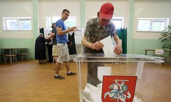 Per savivaldos rinkimus – daugiau rinkėjų