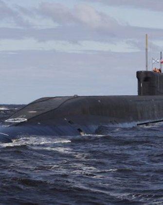 Rusija žvangina ginklais: iš atominio povandeninio laivo paleido tarpžemyninę raketą