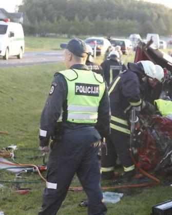 Per avariją Klaipėdos rajone – keturi sužeisti ir vienas žuvęs žmogus
