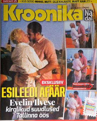 """Su kitu vyru užklupta Estijos prezidento žmona Evelin Ilves: """"Atleiskite visi, kuriems suteikiau skausmo"""""""