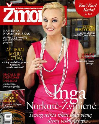 """Inga Norkutė-Žvinienė: """"Iš dangaus aš daug tikiuosi..."""""""