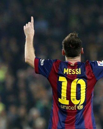 """Lionelis Messi laimėtose rungtynėse tapo rezultatyviausiu visų laikų """"Primera"""" futbolininku"""