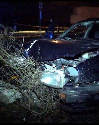 Po avarijos Marijampolėje prie automobilio stovėjusį vyrą užmušė užvirtęs elektros stulpas