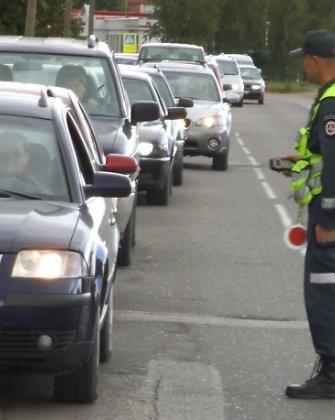 Nuo 6 val. ryto į reidą išsiruošę Vilkaviškio policininkai nepalinkėjo gero kelio tik vienam vairuotojui