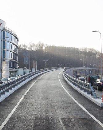 Eismas Žvėryno tiltu ribojamas tiriant transporto srautus, ribojimai nebegalios nuo penktadienio