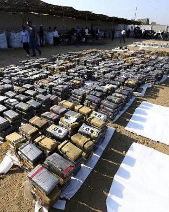 Peru policija sulaikė 3,5 tonos kokaino krovinį, turėjusį kartu su anglimi pasiekti Belgiją ir Ispaniją