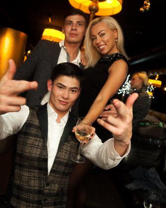 Modelis Tuen Simonas Phamas audringai šėlo Vilniaus naktiniame klube