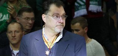 Pirmoji Sporto garbės žvaigždė – A.Saboniui, garbės komandoro ženklas – S.Jovaišai