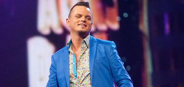 Ruslano Kirilkino koncertas Linksmakalnyje baigėsi liūdnai: į dainininką mesta petarda