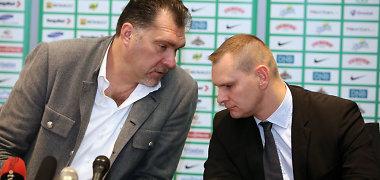 Krepšinio federacijos generalinio sekretoriaus poste Mindaugą Balčiūną pakeitė Mindaugas Špokas