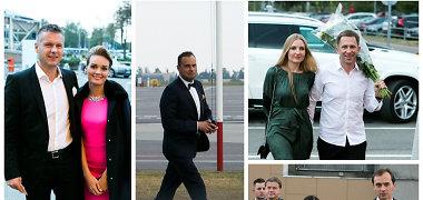 Indrė ir Jogaila Morkūnai vestuves atšventė oro uoste: prieš puotą svečiai paskraidė lėktuvu