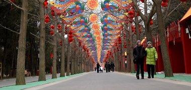 Kinijoje per rytietiškų Naujųjų metų laikotarpį laukiama 2,9 mlrd. kelionių bumo