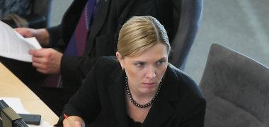 Teismas atmetė A.Bilotaitės skundą dėl K.Trečioko veiksmų