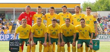 FIFA reitinge Lietuva susigrąžino vienuolika pozicijų