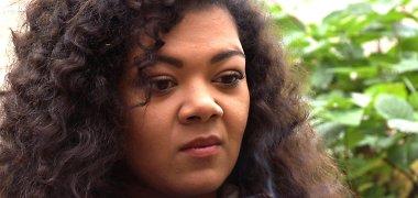"""Egzotiškos išvaizdos aktorė Oneida Kunsunga: """"Kovą su patyčiomis reikia pradėti nuo savęs"""""""
