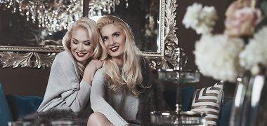 Kalėdinė seserų Kristinos Ivanovos ir Natalijos Bunkės fotosesija