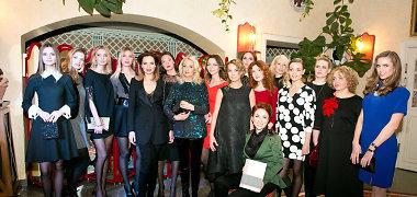 Modeliais tapusios garsios moterys susitiko Olgos Wiseman knygos apie grožį pristatyme