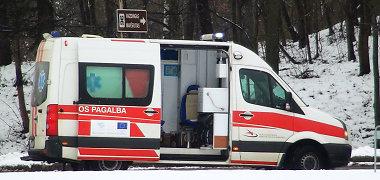 Didžioji BMW avarija Vilniuje: viena iš penkių sužalotųjų mirė ligoninėje