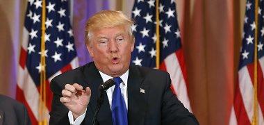Pentagonas gina NATO, supeiktą JAV prezidento posto siekiančio Donaldo Trumpo
