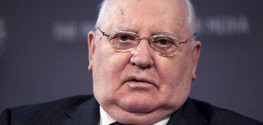 Prokurorai pakartotinai vertins prašymą suteikti M.Gorbačiovui specialiojo liudytojo statusą