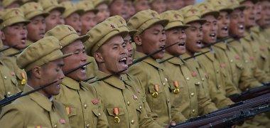 Šiaurės Korėjoje mirties bausme nubaustas armijos vadas