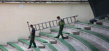 Vilnius ruošiasi Dainų šventei: vien Vingio parko estradai skirta 200 tūkst. Lt