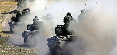 Rusija ir vietos kolaborantai okupuotoje Ukrainos dalyje didina pajėgas