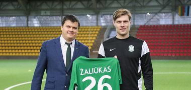 """Užsienio klubus į """"Žalgirį"""" išmainęs M.Žaliūkas: """"Geriau būsiu laimingas Lietuvoje"""""""