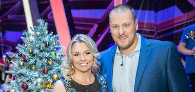 Violeta ir Vilius Tarasovai per Kalėdas tėvų šventines tradicijas derina su savomis