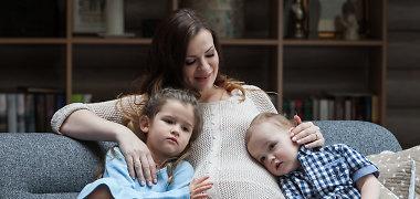 """Besilaukianti Mingailė Kalnietė įsiamžino fotosesijoje: """"Visada svajojau turėti mažiausiai tris vaikus"""""""