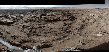 Marso paviršių kadaise raižė milžiniškos cunamio bangos